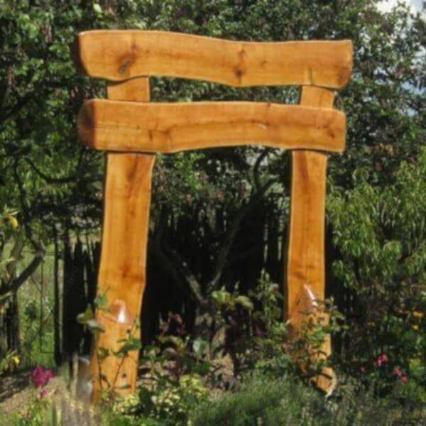 Wood portal