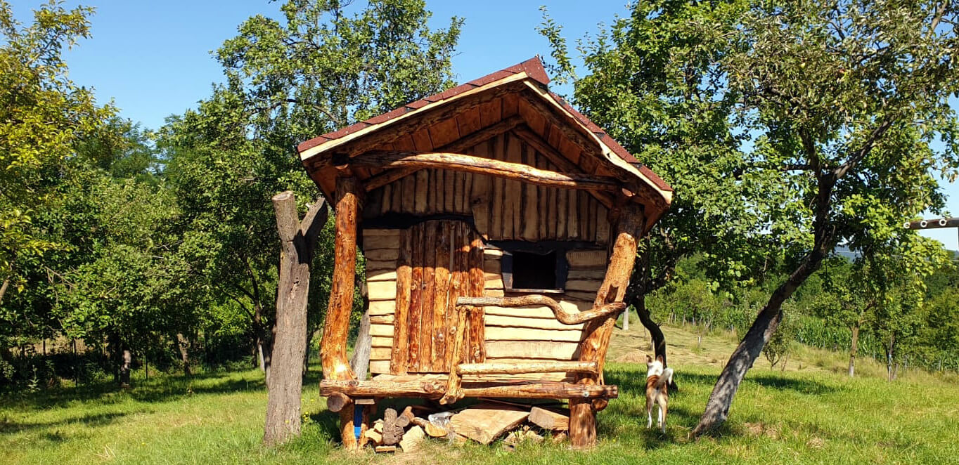 Wooden Playhouse front